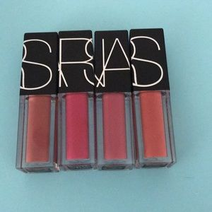 NARS lipgloss set 4